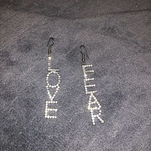 INTEREST CHECK: MATD LOVE AND FEAR EARRINGS
